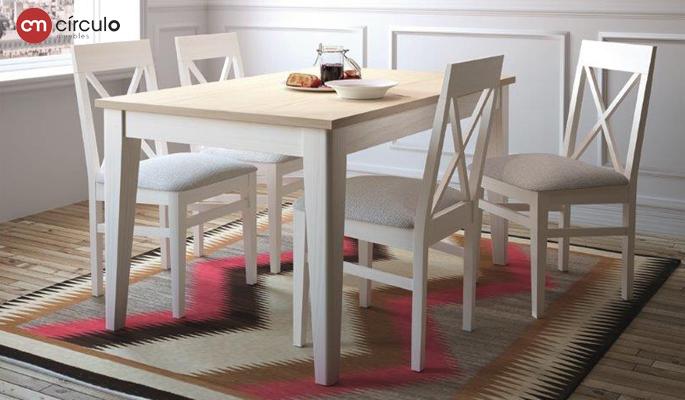 Muebles para tu casa de estilo shabby chic en for Comedor shabby chic