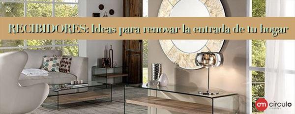 ideas de recibidores RECIBIDORES Ideas Para Renovar La Entrada De Tu Hogar