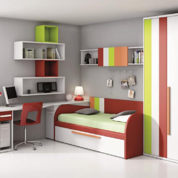 Dormitorios juveniles online comprar muebles juveniles - Dormitorios infantiles modernos ...