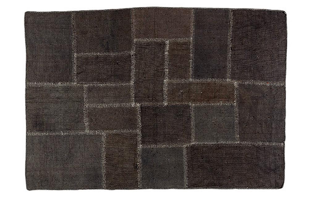 Alfombra de yute en patchwork for Clasificacion de alfombras