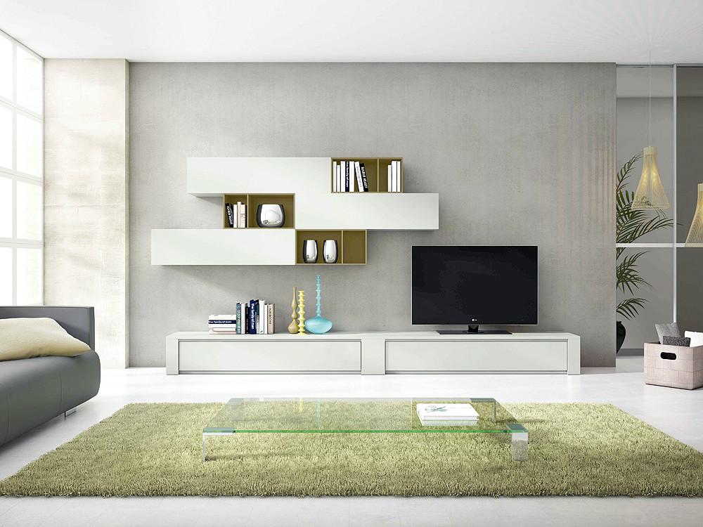 Composición modular de salón. Estilo moderno