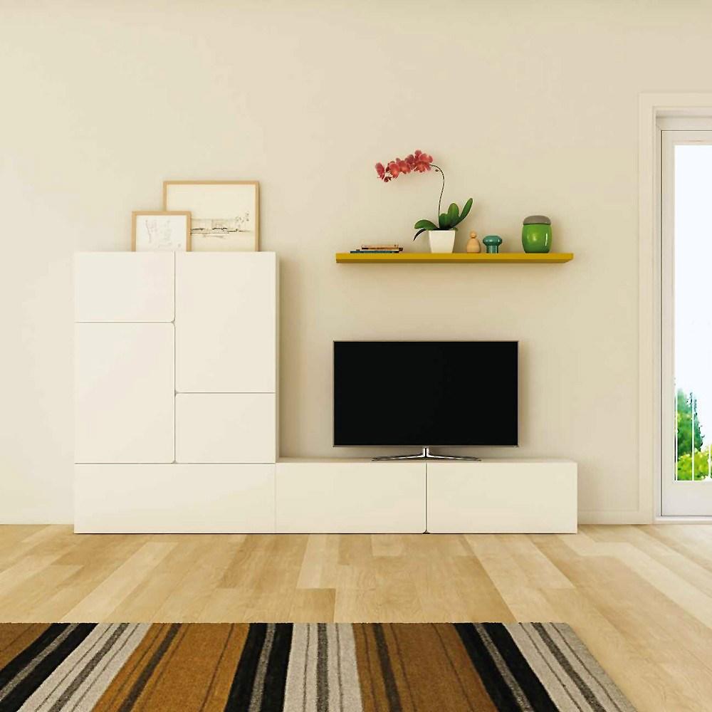 Ambiente de sal n moderno for Composicion salon moderno