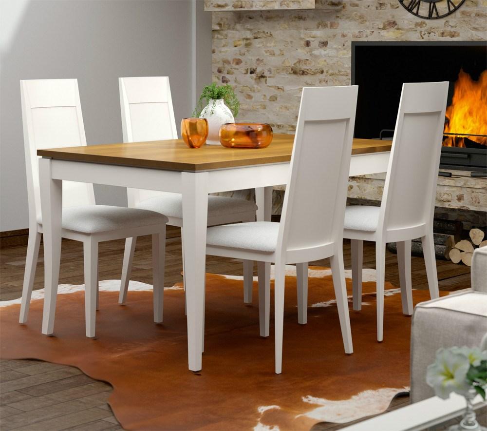 Conjunto mesa y sillas tosca y tabaco - Conjunto mesas y sillas ...