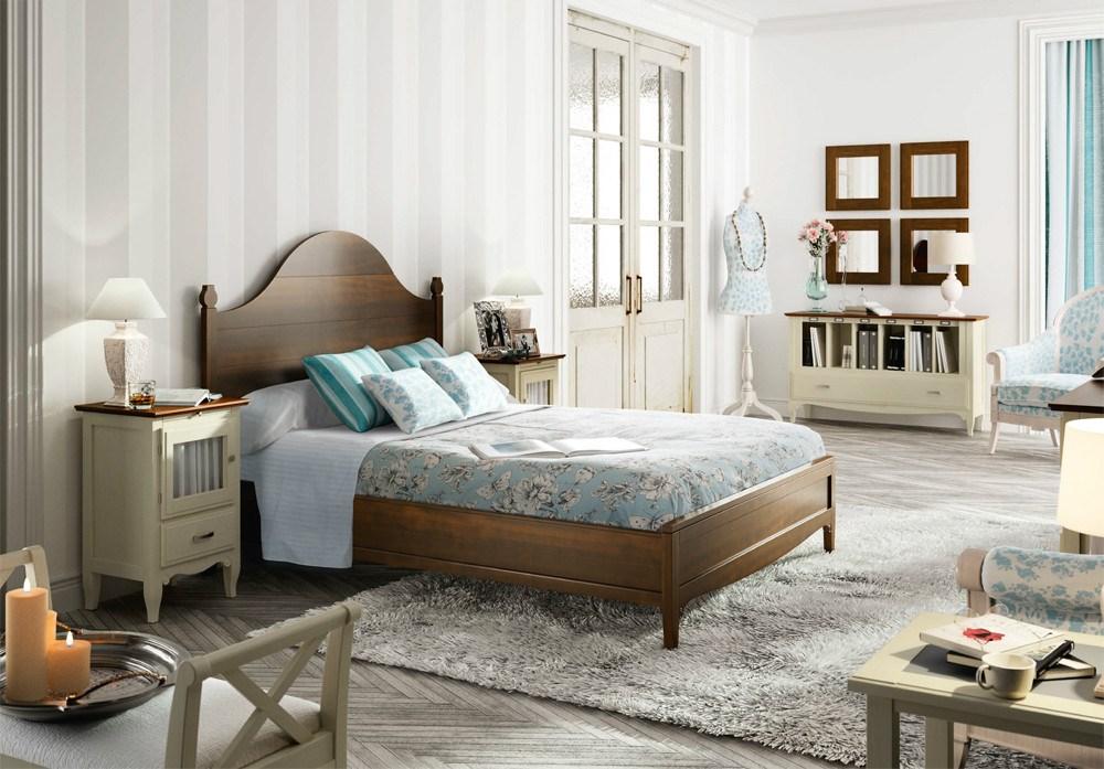 Dormitorio matrimonio r stico mediterr neo - Nuevo estilo dormitorios ...
