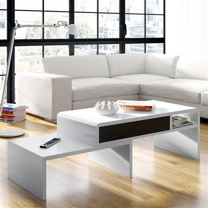 Mesas de centro online tienda de muebles c rculo muebles - Mesa centro extensible ...