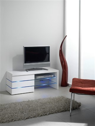 Mesa de Tv con luces led