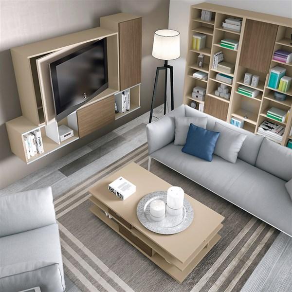 Mueble de tv con sistema giratorio derecha o izquierda - Mueble giratorio tv ...