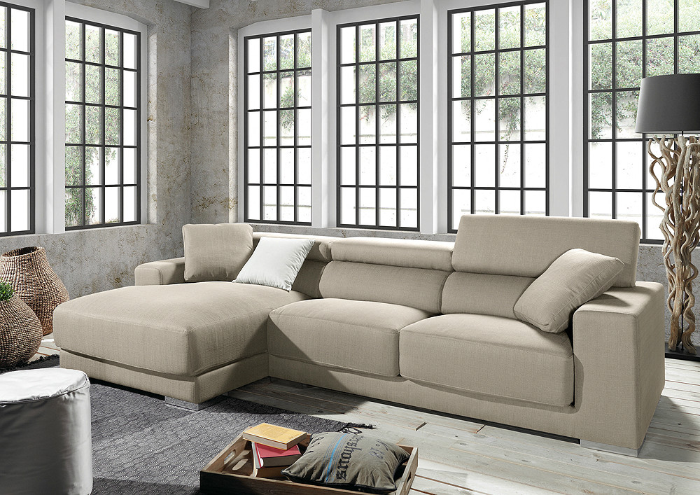 Comprar sof de tres plazas con chaiselongue for Sofas de tres plazas