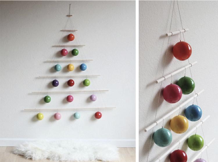 Navidad en casa ideas para la decoraci n - Ideas arbol de navidad ...