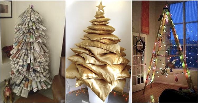 Navidad En Casa Ideas Para La Decoracion - Ideas-arboles-de-navidad