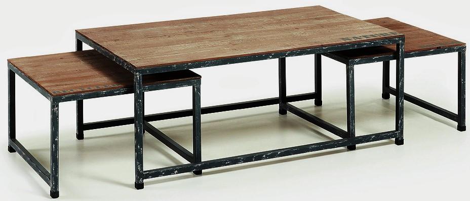 Lo ltimo en mesas de centro en for Patas de hierro para mesas