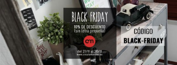 BLACK FRIDAY en Círculo ONLINE