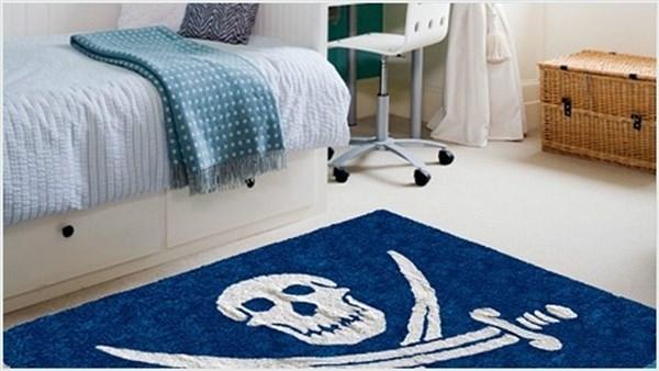 Alfombra con bandera pirata for Clasificacion de alfombras