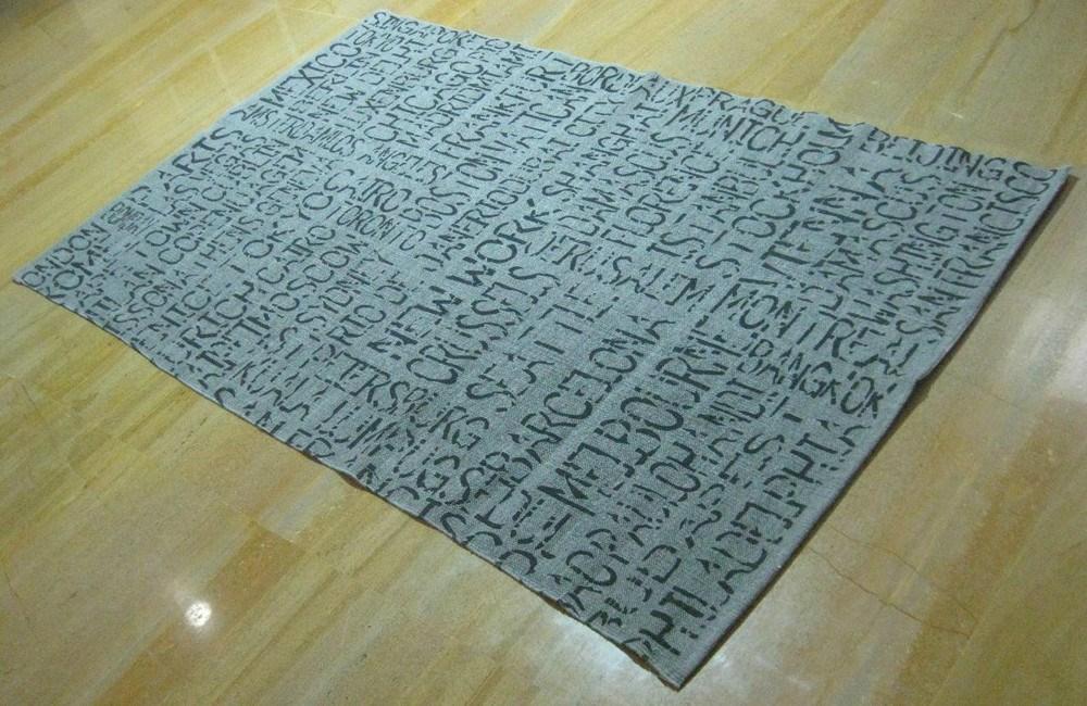 Alfombra juvenil serigrafiada de algod n - Alfombras de algodon ...