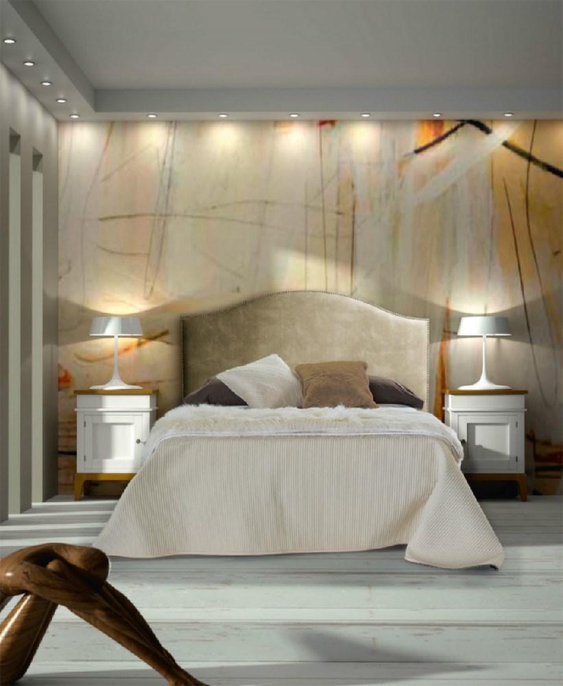 Dormitorio matrimonio estilo vintage - Cabeceros con estilo ...
