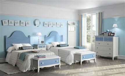 Perfect Dormitorio Juvenil Dos Camas