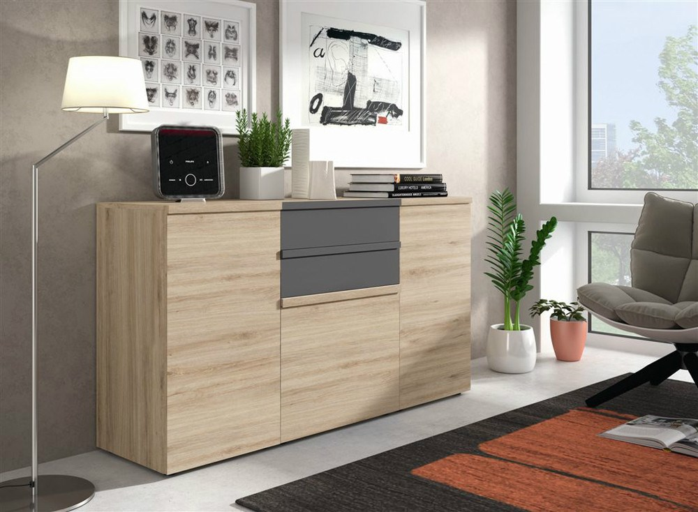 Aparador de estilo moderno for Mueble buffet moderno