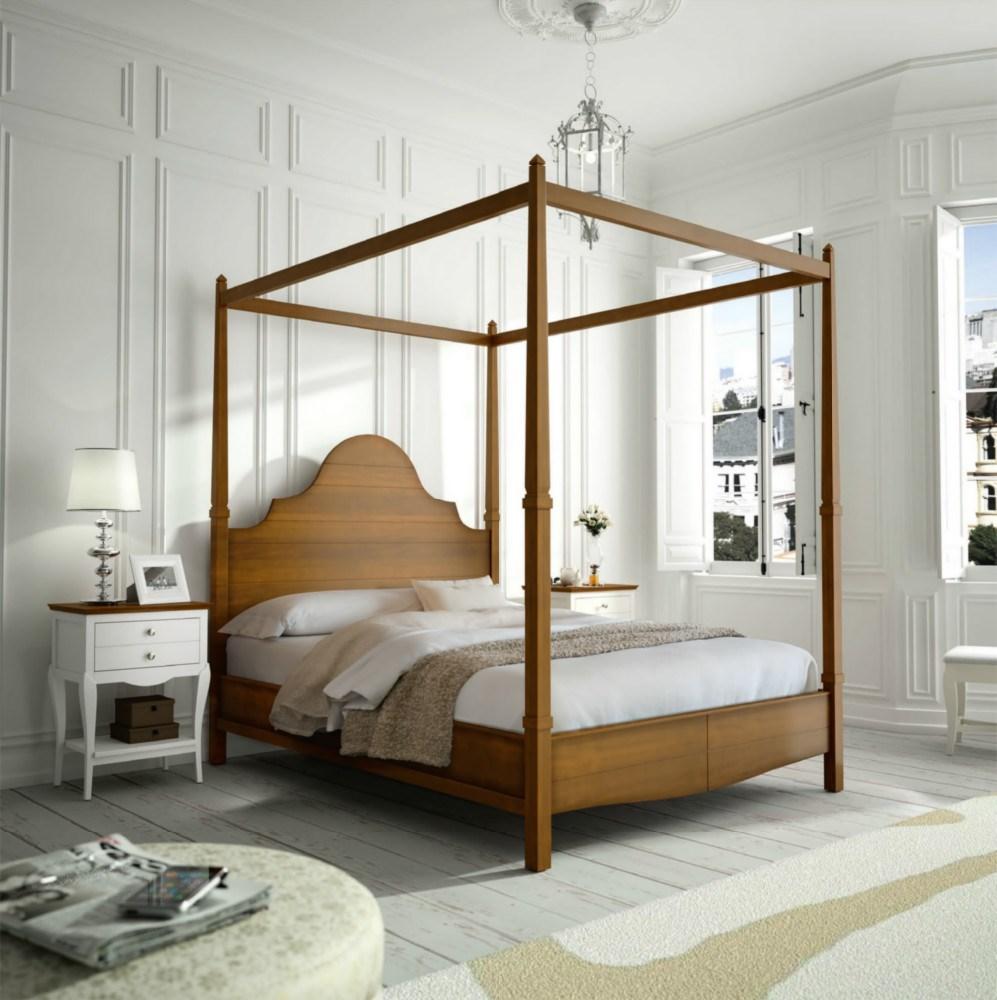 Cama con dosel 150 - Dosel para cama ...