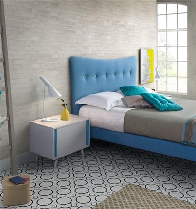 cabezal crculo mobiliario camas y cabeceros vintage desde uac