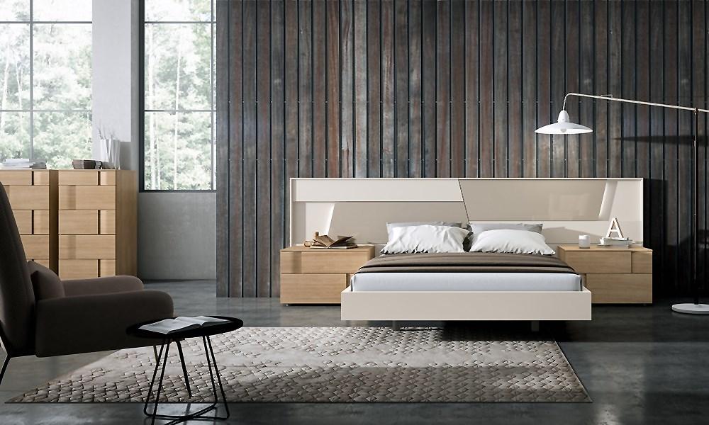 Ambiente de dormitorio en roble - Ambientes de dormitorios ...