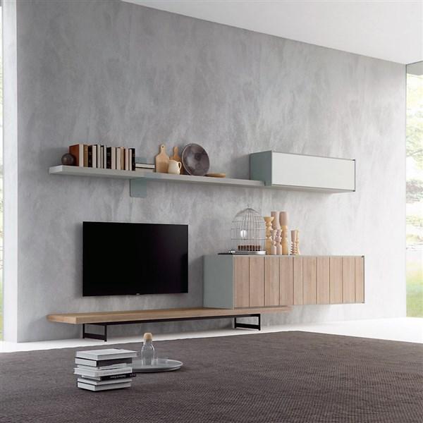 Composici n minimalista de sal n moderno for Composicion salon moderno
