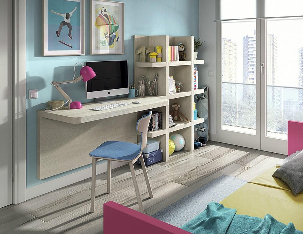 Composici n dormitorio juvenil for Composicion dormitorio juvenil
