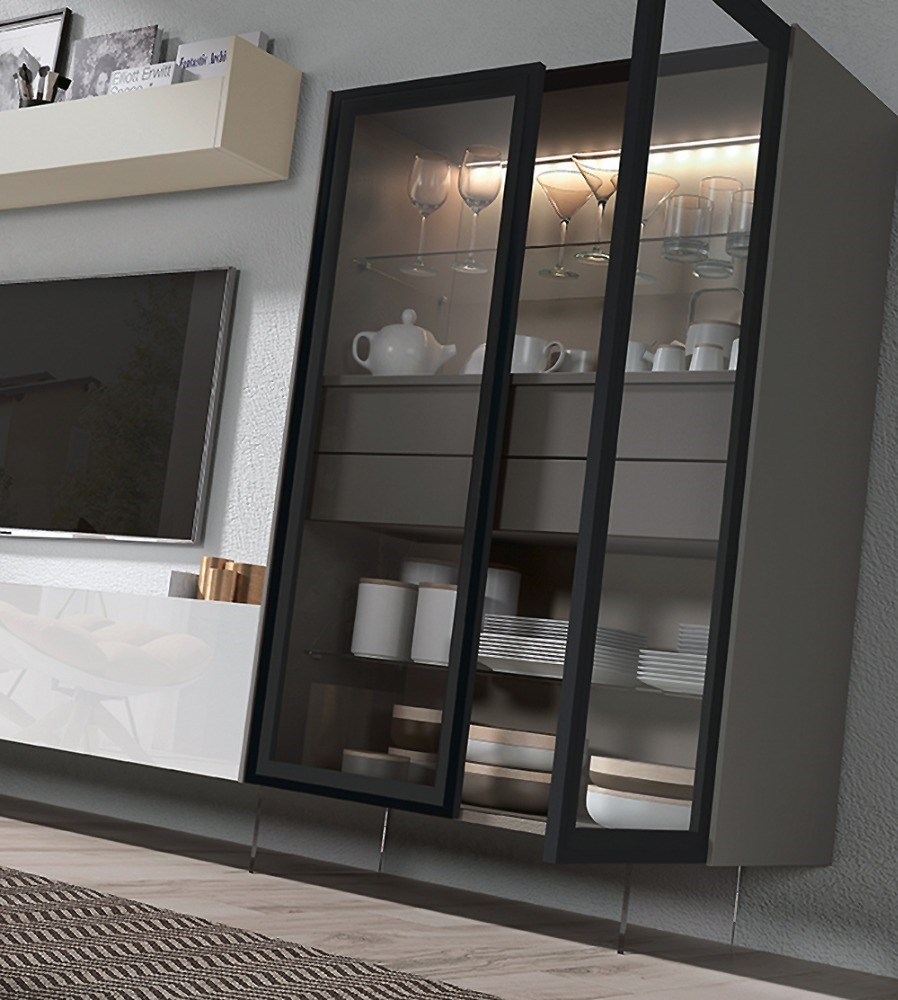 Composici n modular moderna y sofisticada para sal n - Composicion modular salon ...