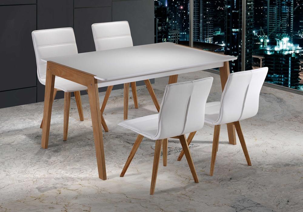 Conjunto n rdico de mesa de comedor y sillas for Conjunto de mesa y sillas de comedor