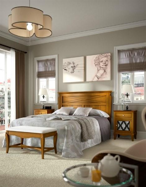 Dormitorio matrimonio estilo rustico mediterr neo for Nuevo estilo dormitorios matrimonio