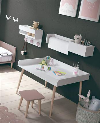 Mesas de estudio y escritorios para dormitorios juveniles