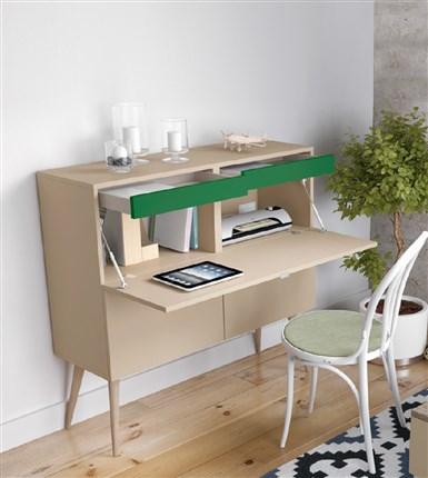 escritorio de estilo vintage