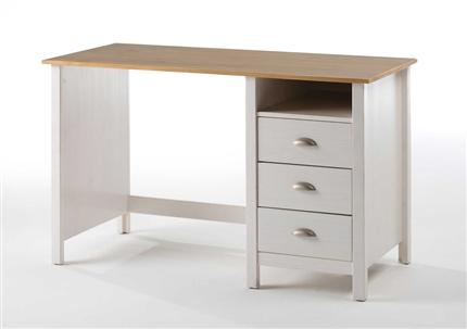 Mesas de estudio y escritorios para dormitorios juveniles - Escritorio de pino ...