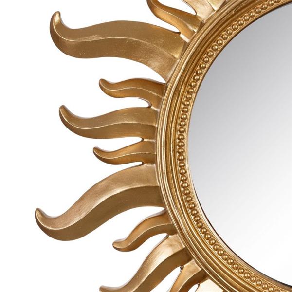 Espejos con forma de sol for Espejos decorativos con forma de sol