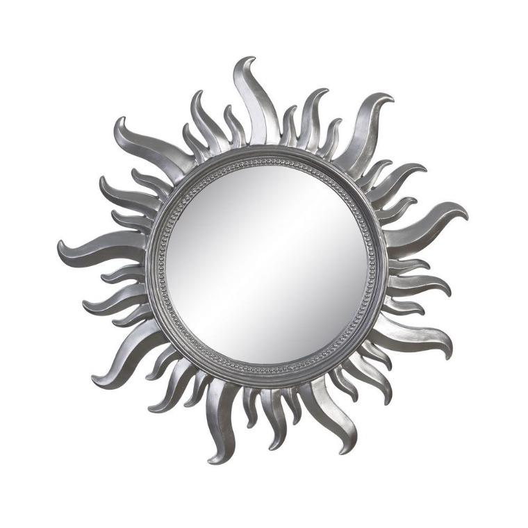 Espejos con forma de sol for Espejos en forma de sol