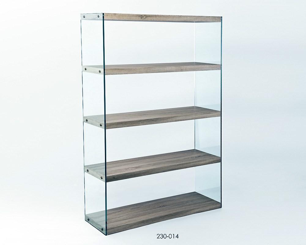 Estanteria para ba o de dise o estanterias de cristal for Estanterias bano baratas