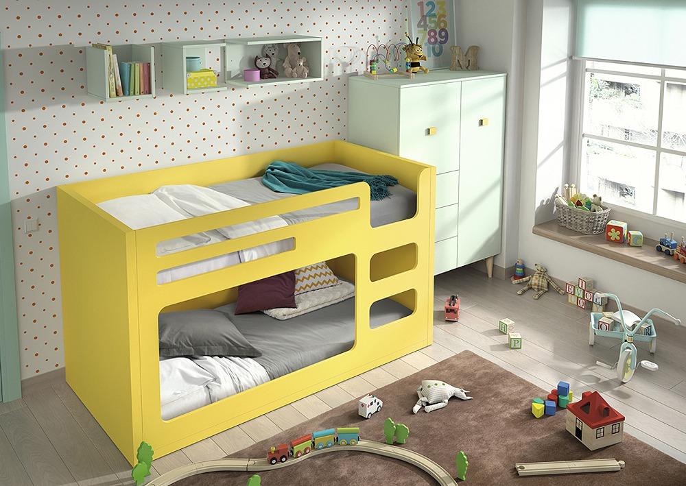 Litera mini oval con acceso lateral for Kinderzimmer 2 ebene