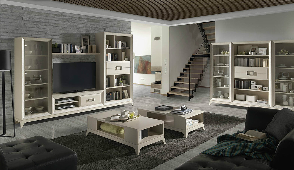 Mesa de centro de estilo new classic for Lo ultimo en muebles de salon