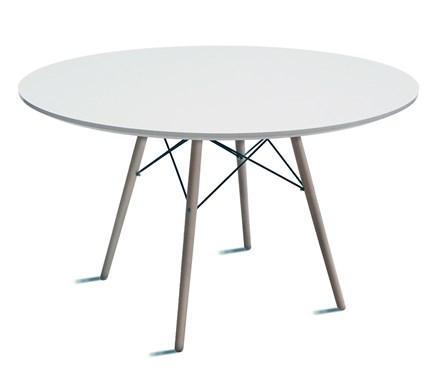 Mesa auxiliar en madera y metal for Mesa auxiliar comedor