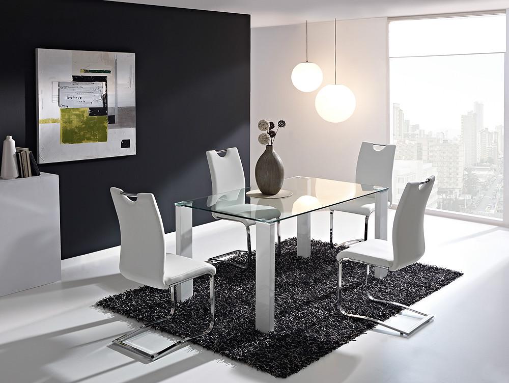 Mesa de comedor rectangular de estilo moderno for Mesita de comedor