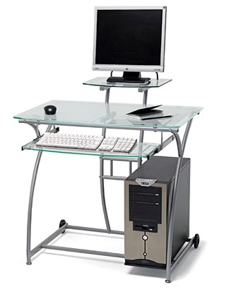 Mesas ordenador tv for Mesa de ordenador con ruedas