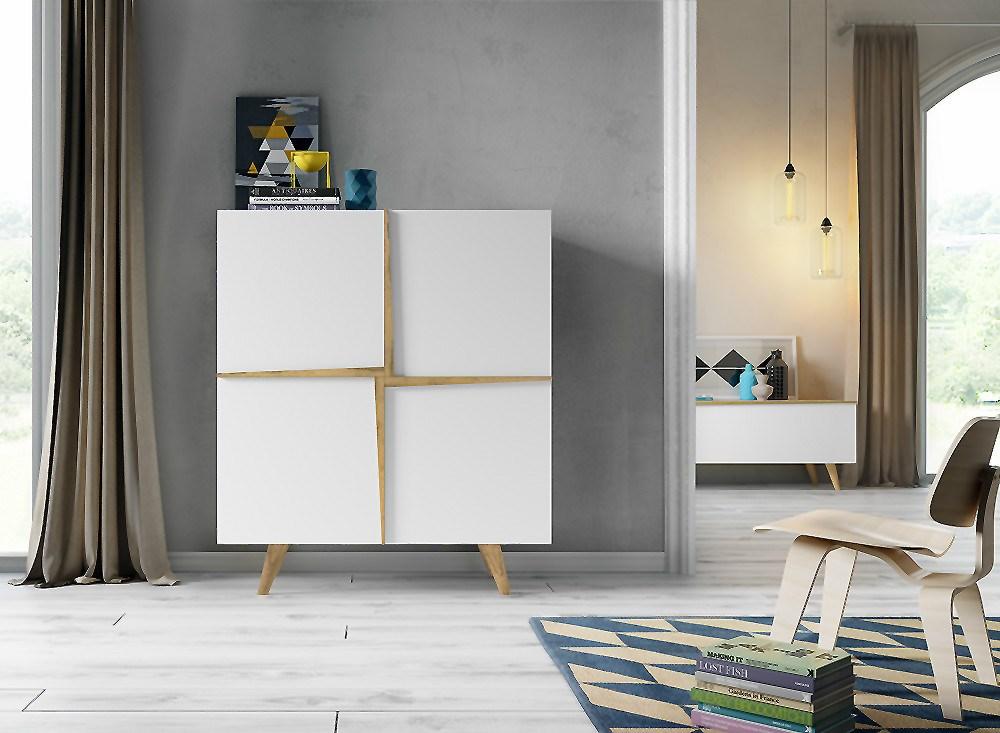 Mueble cubo estilo n rdico aspen - Muebles estilo escandinavo ...