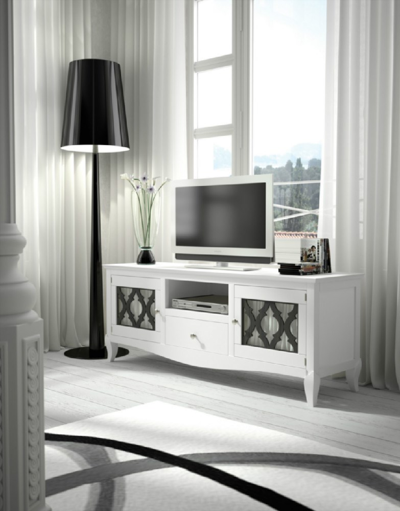 Mesa tv colonial rustico - Mueble tv colonial ...