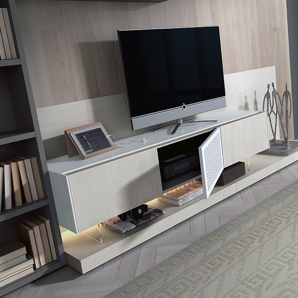 Moderno mueble tv para guardar sistemas de sonido en su for Muebles contemporaneos chile