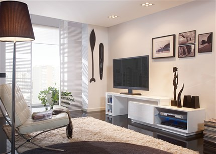 Comprar mueble tv regulable con led