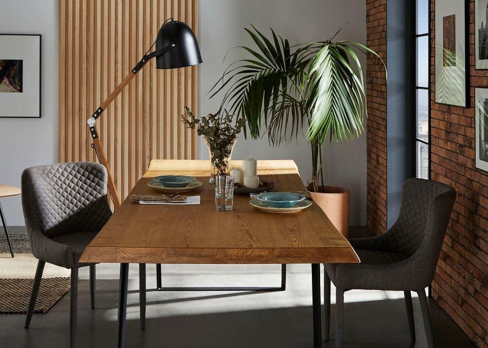 Silla de dise o completamente tapizada - Mesas de madera hechas a mano ...