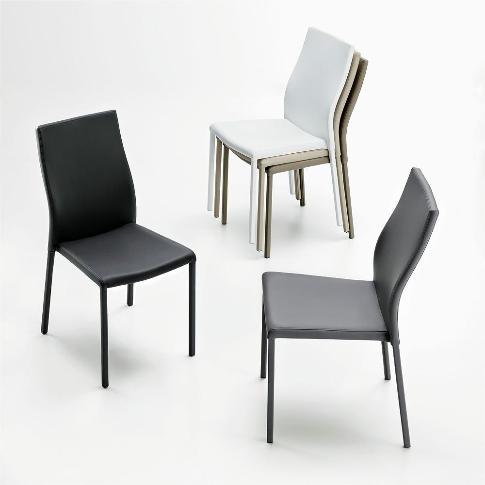 sillas de estilo moderno tapizadas en colores