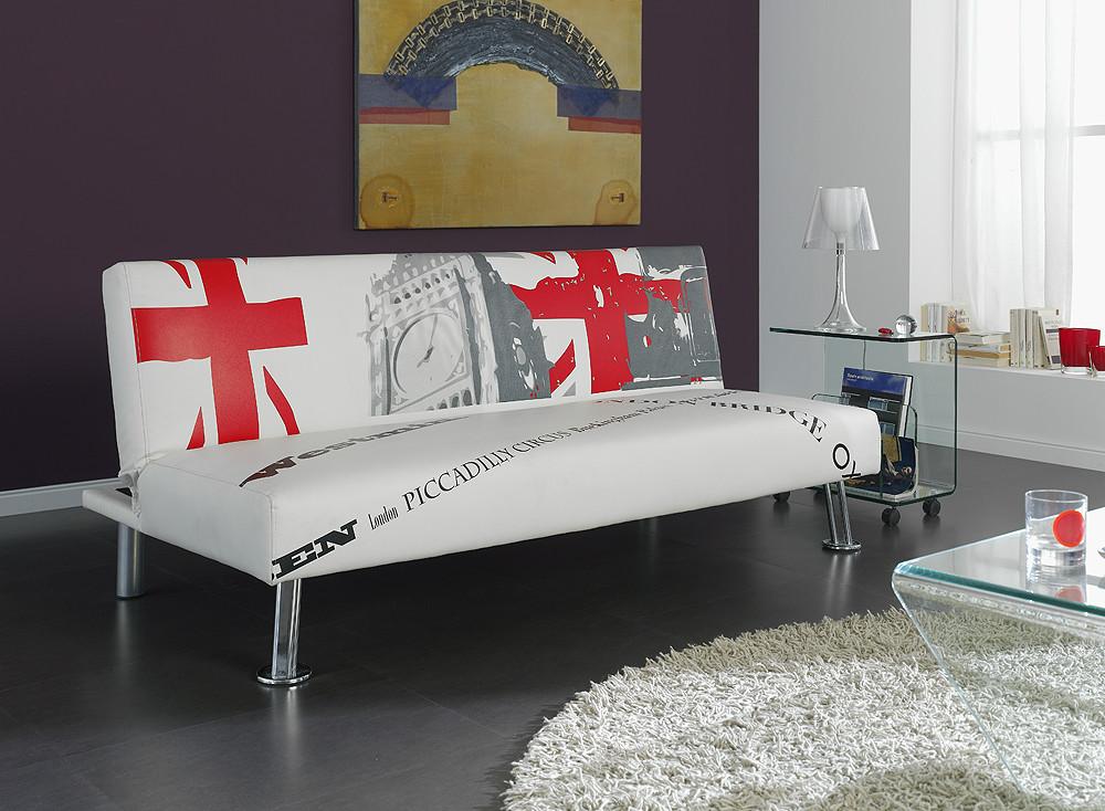 Sof cama con apertura clic clac for Despacho con sofa cama
