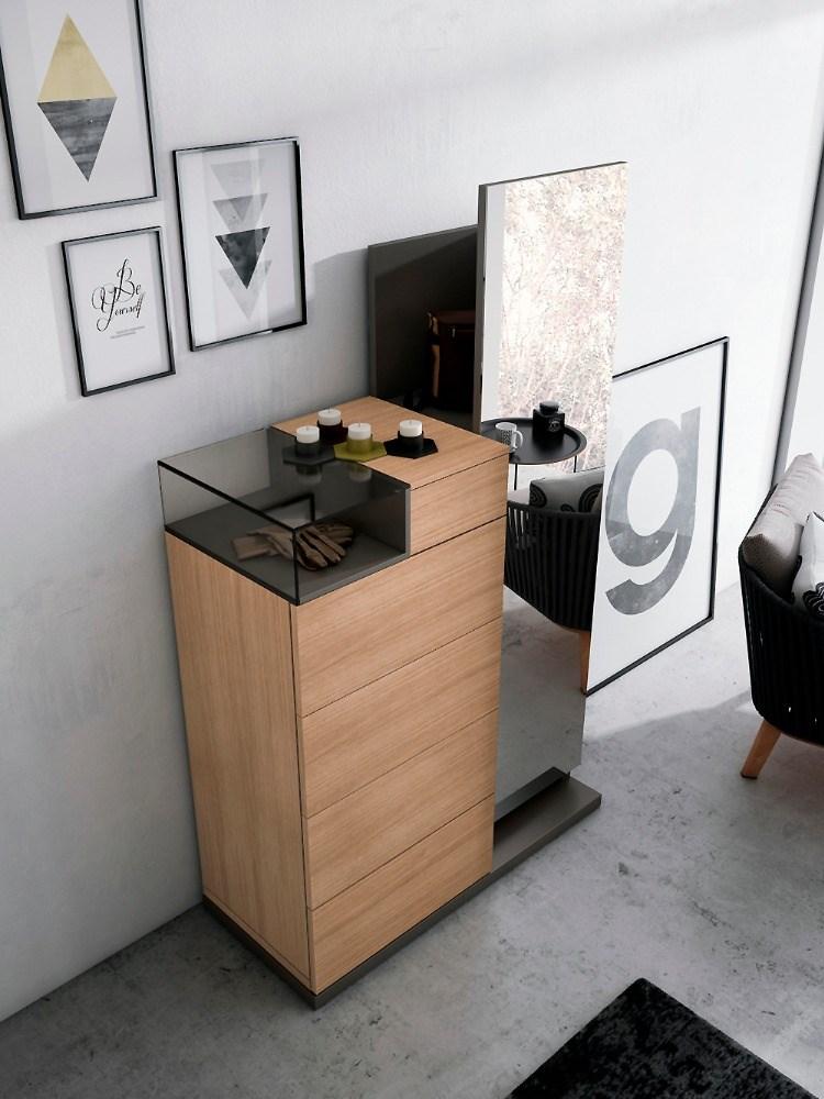 Sinfonier espejo con espacio interior para almacenaje for Espejo con almacenaje